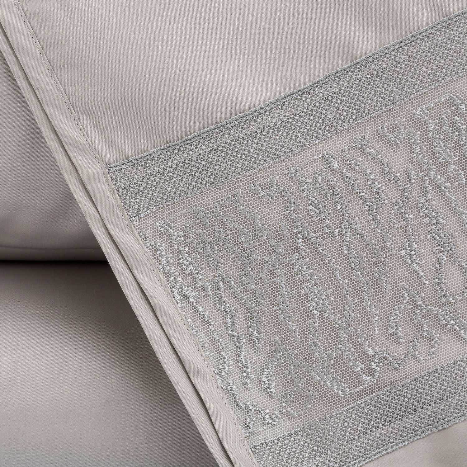 La Perla Home Collection-Compl. Lenzuola IPPOGRIFO-2 P.ze-GRIGIO ...
