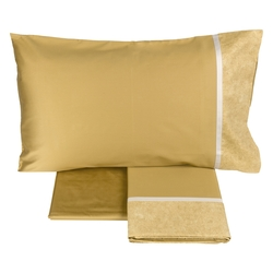 GALUCHAT Sheet set-IT QUEEN-YELLOW