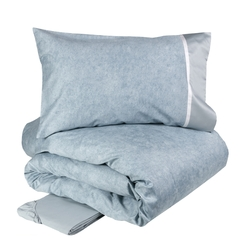 GALUCHAT Duvet cover set-IT QUEEN-BLUE
