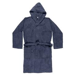 TRAVEL Bathrobe-XL-BLUE
