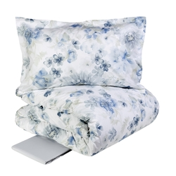 ACQUERELLO Duvet cover set-IT QUEEN-BLUE