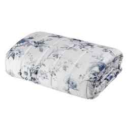 HENRIETTE Quilted bedspread-IT QUEEN-BLUE