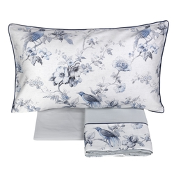 HENRIETTE Sheet set-IT QUEEN-BLUE