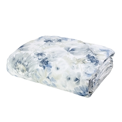 ACQUERELLO Quilted bedspread-IT QUEEN-BLUE