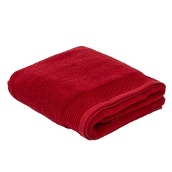 Towel NERVURES-100x150-RED