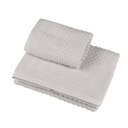 Towel set 40x60 + 60x110 cm ADONE - GREY