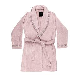 PETIT MAISON accappatoio-L-rosa+rosa
