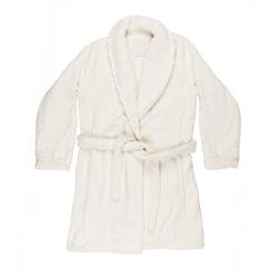 PETIT MAISON accappatoio-XS-bianco seta + bianco