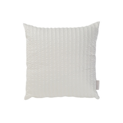 CLEOPATRA DECORATIVE PILLOW-50x50-WHITE SILK