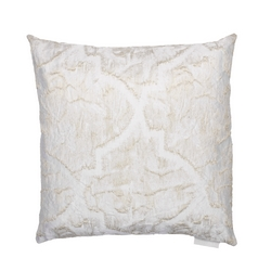GIADA PILLOW 50X50-WHITE SILK