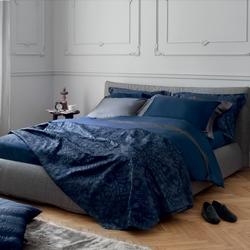 VICTORIA PILLOW 50X50-BLUE
