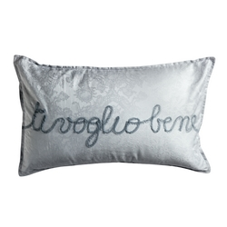 TI VOGLIO BENE DECORATIVE PILLOW-30x50-PLASTER
