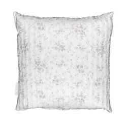 Cushion LIMOGES -50x50- white silk