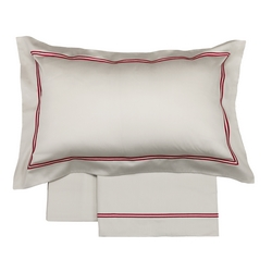 Bedding set NOVEL-Queen-GREY+BORDEAUX