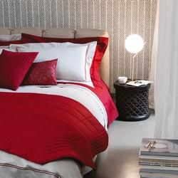 Bedding set NOVEL-Queen-GREY+BORDEAUX