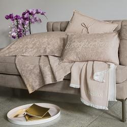 Bedding set RACHELE- Queen-WHITE SILK