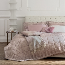 Bedding set VIRGINIA-Queen-NOUGAT