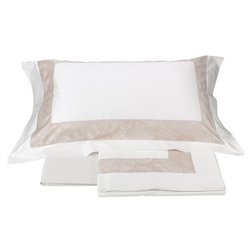 Bedding set AMULET - IT DOUBLE white/pink
