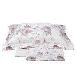 Completo letto matrimoniale Claire - Bianco seta - La Perla Home Collection