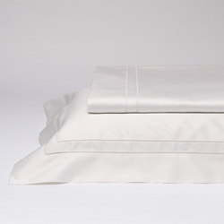 Bedding set GEMELLI- IT DOUBLE -white silk