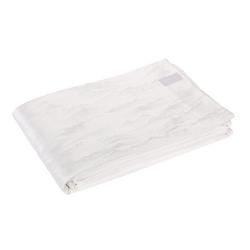 RILIEVI BEDSPREAD 270X270 cm - WHITE SILK