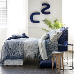 Duvet cover set ALADIN-QUEEN-BLUE