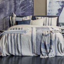 Duvet cover set ALTANA- double- natural