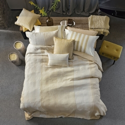 UNICO duvet cover set - IT Double -Beige/Ocher