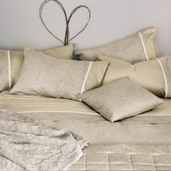 GALUCHAT Quilted bedspread-IT DOUBLE-BEIGE