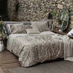 VALCHIUSA quilted bedspread 180x270- natural/grey