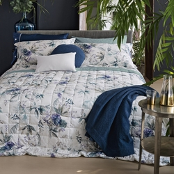 Quilted bedspread SAMBUCO-270X270-chalk