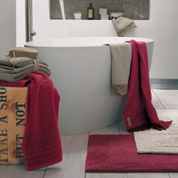 COCCOLA Guest and hand towel set (1+1)  MELANZANA