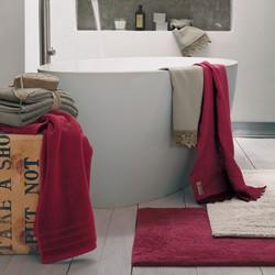COCCOLA Bath sheet 100x150 cm BIANCO