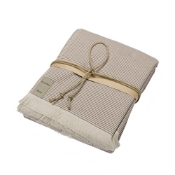Spa towel STRIPES - 100X180 - NATURAL