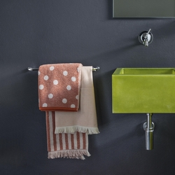 Guest + hand towel POLKA DOTS 38x50+50x110 GREEN