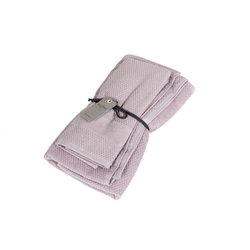 VELOUR Set of 2 towel 40x60 cm 60x110 cm -pink