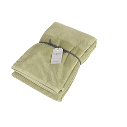 VELOUR Bathsheet 100x150 cm - light green
