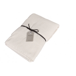 VELOUR Bathsheet 100x150 cm - cream