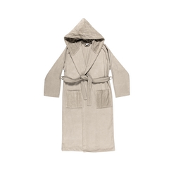VELOUR Bathrobe L - beige