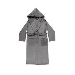 VELOUR Bathrobe XL - grey