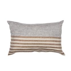 Pillow UNICO-30X50- BLUE / MUSTARD