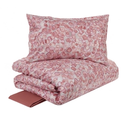 VALCHIUSA DUVET COVER SET - king- pink