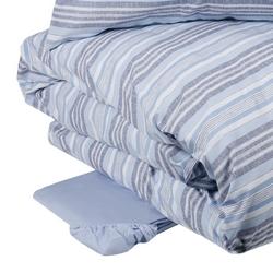 Duvet cover set ASOLE -IT SINGLE -light blue