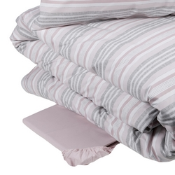 Duvet cover set ASOLE- IT DOUBLE -pink
