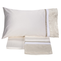 ADELAIDE Sheet set-2 PIAZZE-OFF WHITE