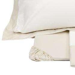 Maxi Sheet Set PLEIN 2 PIAZZE OFF WHITE/ BEIGE
