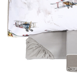 Bedding set  VOLO-IT DOUBLE -grey