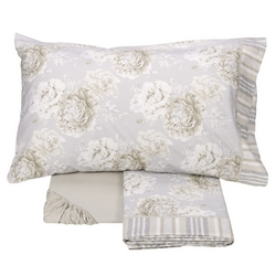 Bedding set BLOOM -IT DOUBLE- BEIGE