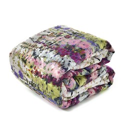 GLADIOLI  quilted bedspread