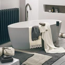 UP AND DOWN Bath mat 60x110 RUBINO